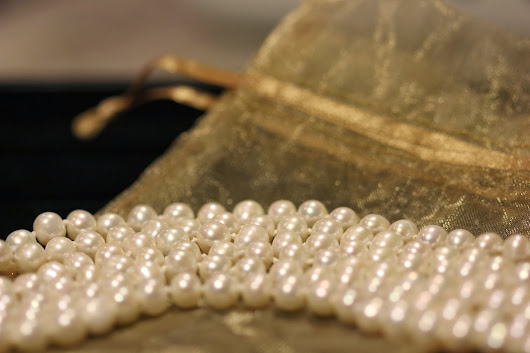 Handmade Crafts With Love: Multi strand Pearl Necklace