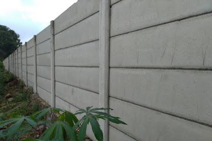 Harga Pagar Beton Panel Lampung Hari ini