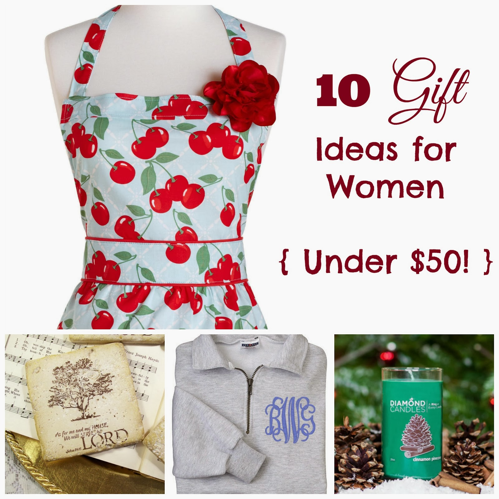 50 Sure To Please Gift Ideas: Where Joy Is : 10 Gift Ideas For Women Under $50