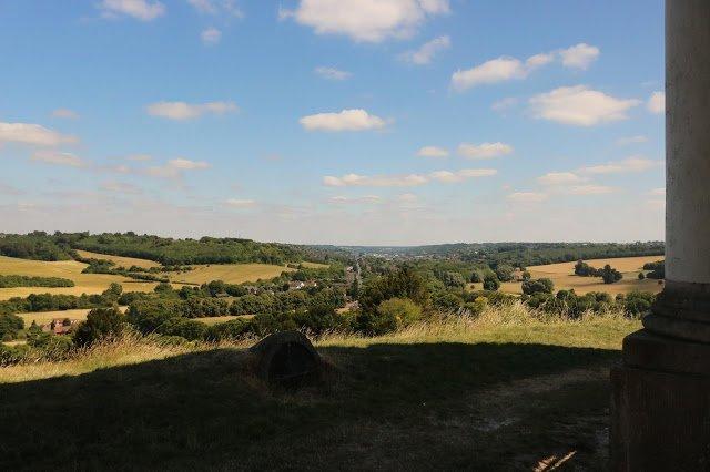 Hills and summer fields