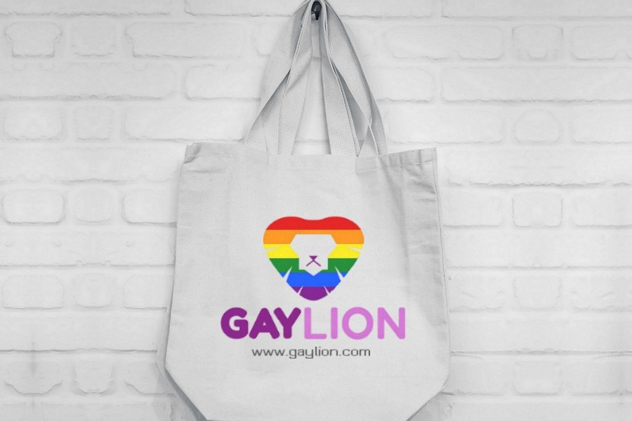 Gay Lion Mock Brand