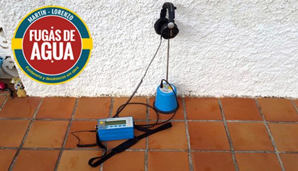 localización fugas agua Castro-Urdiales