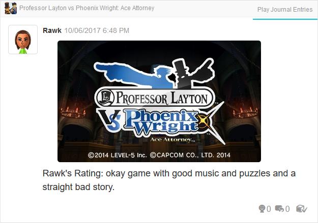 Professor Layton vs. Phoenix Wright Ace Attorney title screen