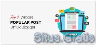Widget Popular Post Keren di Blog