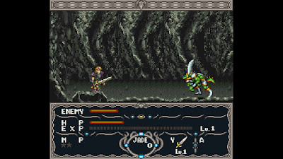 "(Review OldSchool Digger) ""Dragon View"", RPG de SNES Dragonview"