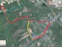 Petualangan Bersepeda Gunung Biru