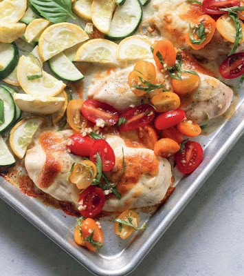 Bruschetta Chicken And Squash Recipe