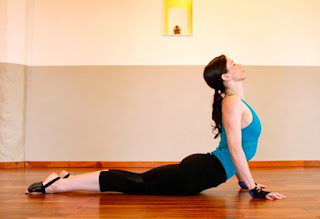 Yoga cobra Pose for Lower Back Pain Relief