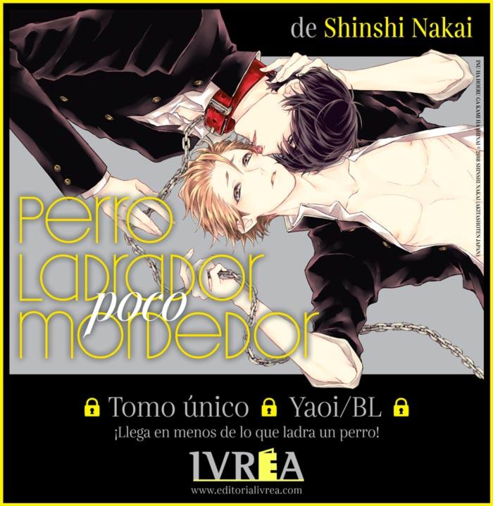 Perro ladrador, poco mordedor (Inu wa Hoeru ga Kami wa Shinai) manga BL - Shinshi Nakai - Editorial Ivrea
