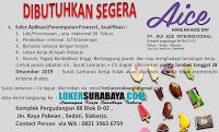 Info Loker Surabaya di PT. Rui Xue International Desember 2019