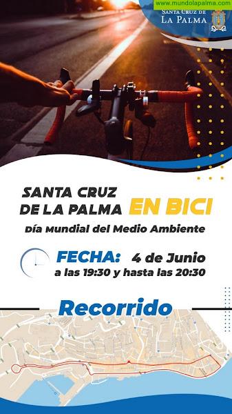 El Ayuntamiento capitalino organiza una marcha en bicicleta con motivo del Día Mundial del Medio Ambiente
