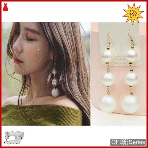 OFDF278 Aksesoris Ear Rings Mutiara Pearl Modis BMGShop