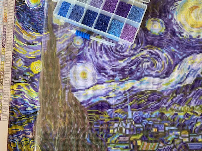 Van Gogh Starry Night diamond painting kit