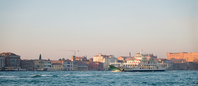 A cold wintry Venice Italy
