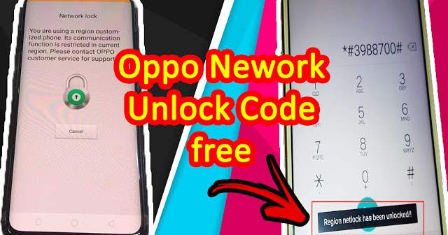 All Oppo Network Unlock Code 2018 100  Working  U0026 Tested