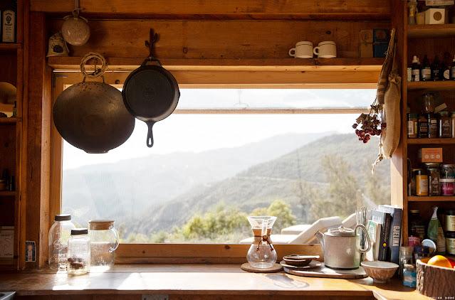 Heather Culp's  Topanga Canyon home