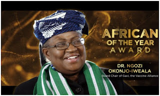 Forbes names Okonjo-Iweala Africa Person of the Year 2020