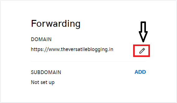 Fix Custom Domain Not Working Without 'www' In Blogger | Forwarding