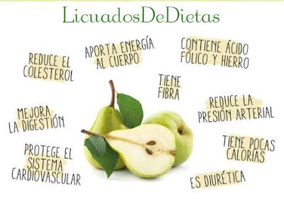 Esta fruta reduce el colesterol , mejora la digestión , protege el sistema inmunológico, tiene fibra y contiene poca calorías, excelente para las personas que quieren bajar de peso.
