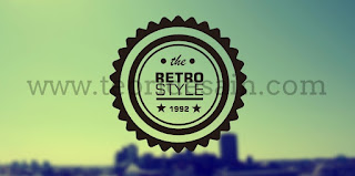 Cara Membuat Logo Retro Vintage Blurred Menggunakan CorelDRAW14