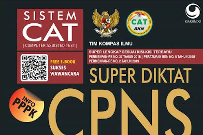 Download Buku Soal Pembahasan CPNS Gratis PDF Terbaru dan Lengkap
