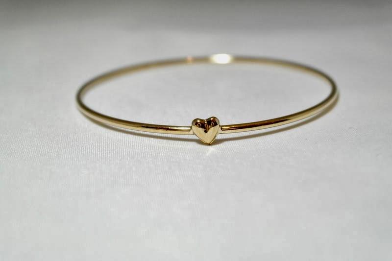 Charmed Ivy Dainty Heart Bracelet
