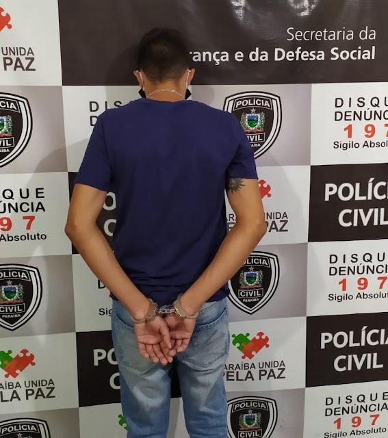 Homem é preso suspeito de tráfico de drogas em Patos-PB
