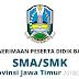 Jadwal Pendaftaran Online PPDB SMA/SMK Jawa Timur 2018/2019