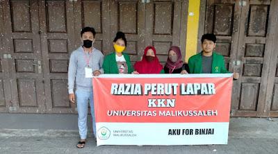 Mahasiswa KKN Balik Kampung Kelompok 283 Melakukan Kegiatan Razia Perut Lapar