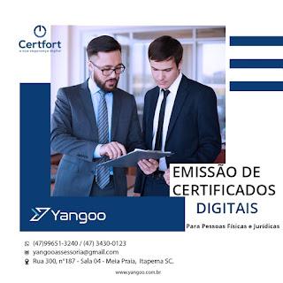 Certificado Digital (para CPF ou CNPJ)  - Presencial em Itapema ou por Videoconferência  (online) para todo o Brasil!