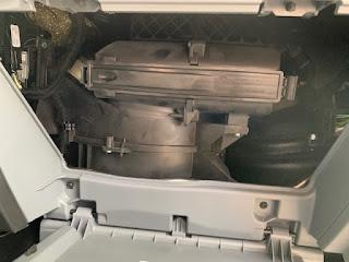 Ford Transit Air Filter Install