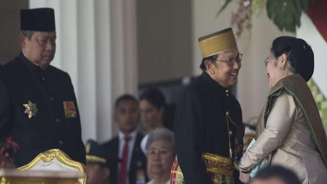 JK Bicara Kebekuan Hubungan SBY dan Megawati