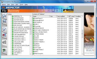 Mengembalikan File dengan PC Inspector File Recovery
