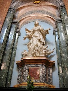 Santa Inés. Obra de Ferrata