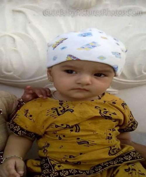 Very Cute Muslim Baby Girl
