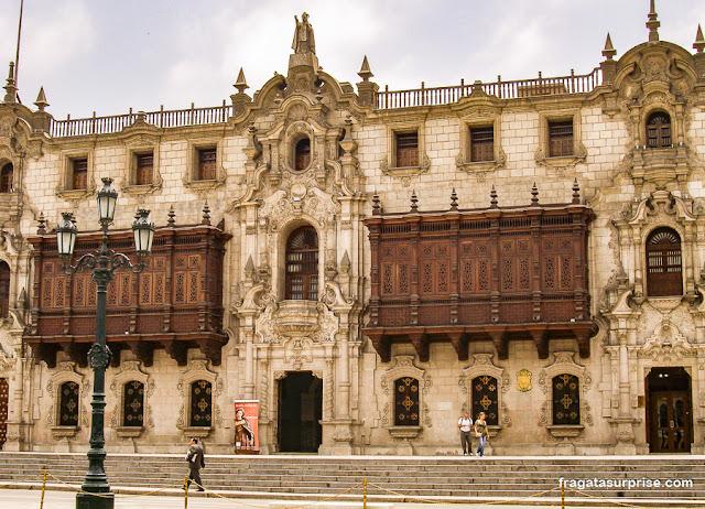 Palácio Arquiepiscopal, Centro Histórico de Lima