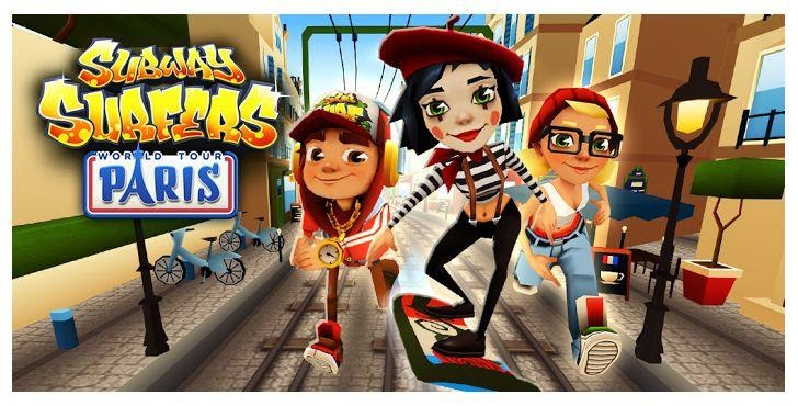Subway Surfers MOD Apk (Unlimited Money & Keys) v1.37.0 Paris http://jembersantri.blogspot.com