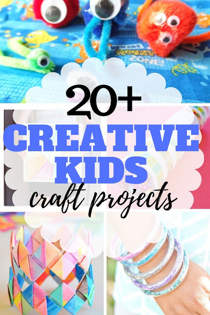 Great list of easy summer crafts for kids for ages 7 to 18.  Perfect for teens, tweens and in betweens.