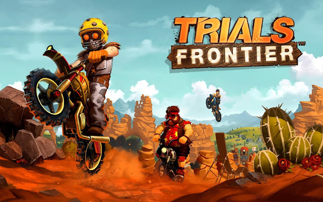 Download Trials Frontier Mod APK+Data v5.1.0 Full Hack Unlimited Money Update 2017