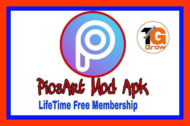 PicsArt Premium Apk For Free | TechnicalGrow