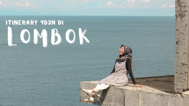 itinerary-lombok-4-hari-3-malam