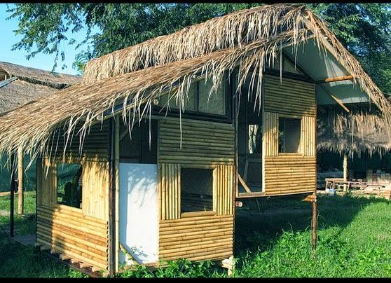 Cara Membuat Rumah Sederhana Dari Bambu Yang Murah