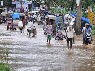 rain-creates-problame-in-flood-area-bihar