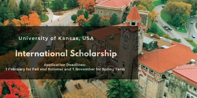مجموعة من المنح (ممولة بالكامل) تقدمها جامعة كانساس الدولية في الولايات المتحدة في عدة تخصصات برسم سنة 2020-2021