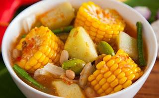 Resep Sayur Goreng Asam Pedas Nikmat