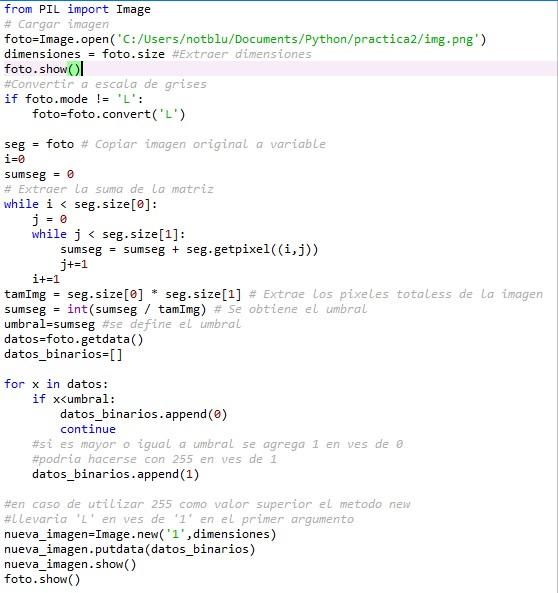 C:\TecSpace >_:   Procesamiento Digital de Imágenes   Python