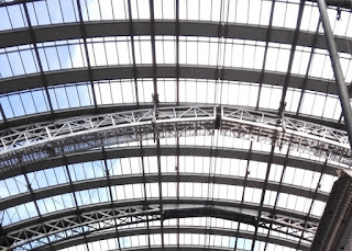Dach des Frankfurter Hauptbahnhofes