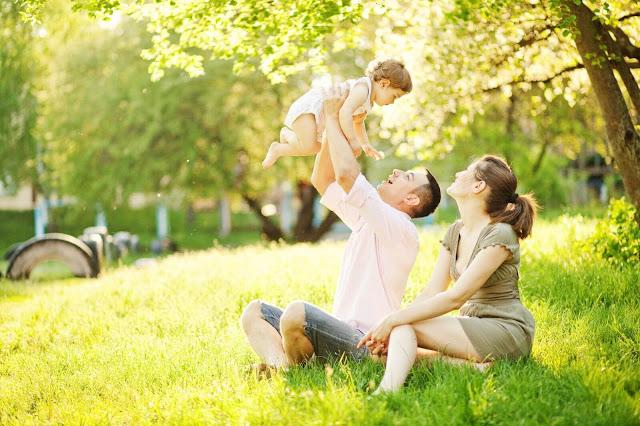 Gia đình hạnh phúc tại Mon Central.