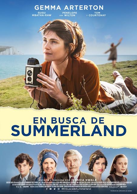 Cartel En busca de Summerland