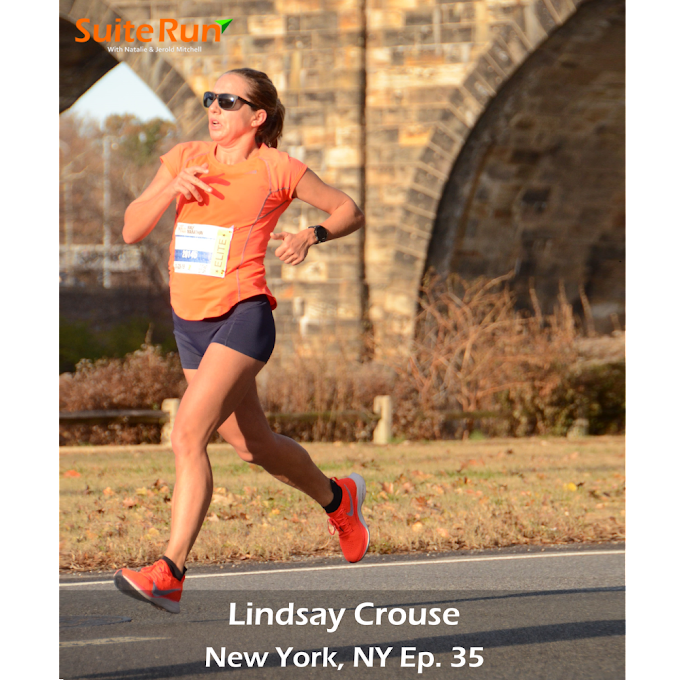 35 | New York, NY with Lindsay Crouse: Running in the Big Apple
